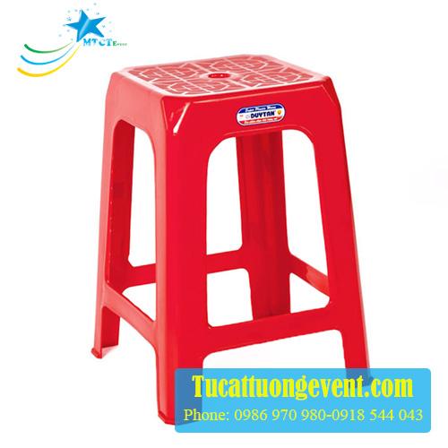 Ghế nhựa cao