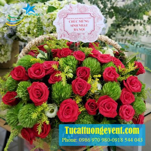 Hoa để bàn